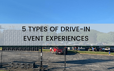 5 Types of Drive-In Events