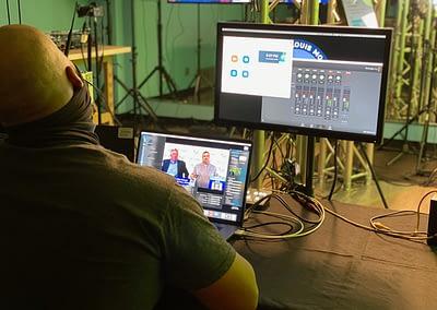 Lutheran High School Virtual Event Studio