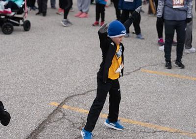 turkey trot kid dancing