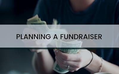 Planning a Fundraiser